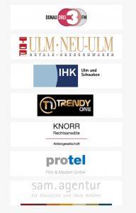 Partner und Sponsoren: TOP Magazin, IHK, Trendy One, Knorr AG, Protel, sam Werbeagentur