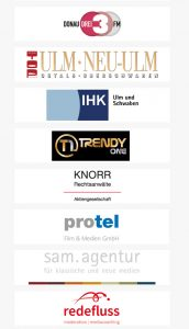 Partner und Sponsoren: TOP Magazin, IHK, Trendy One, Knorr AG, Protel, sam Werbeagentur, redefluss